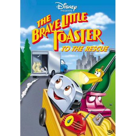 The Brave Little Toaster To The Rescue (DVD) (Toaster That Looks Like The Brave Little Toaster)