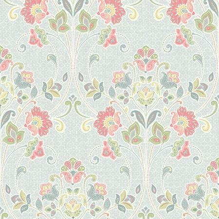 A-Street Prints Willow Sky Nouveau Floral