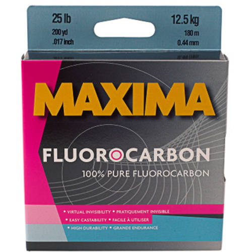 Maxima Fluorocarbon Fishing Line One Shot Spool by Maxima