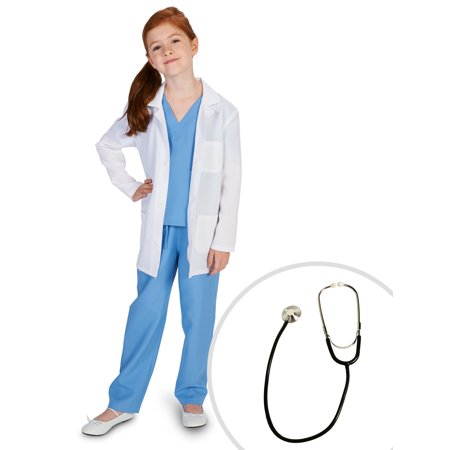 Doctor Child Costume and Stethoscope