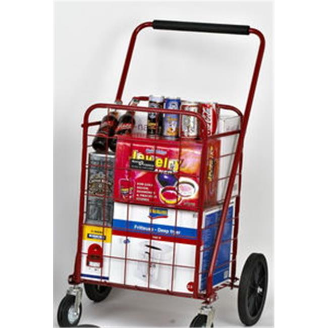 Narita Trading 117RD Sunny Super Shopping Cart  Red