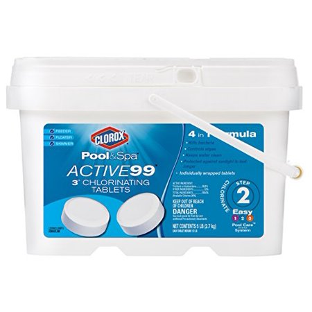Pool and Spa Active99 Chlorinating Tablets Prevents algae and kills bacteria