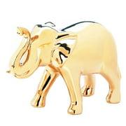 Elephant Statues, Gold Decorative Figurines Elephant Statue Home Decor,  Large