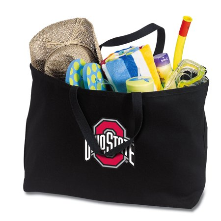 OSU Tote Bag Large Ohio State Shopping Bag ()