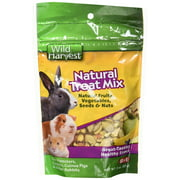 (2 Pack) Wild Harvest Natural Treat Mix for Small Animals, 3 oz.
