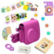 Fujifilm Instax Mini 9 Accessories kit (Purple) Includes a 12-piece Bundle For the Fujifilm Instax Mini 9 Instant Camera (Latest model 2017 Release.)