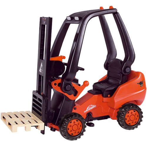 Big Toys Linde Forklift Pedal Construction Vehicle by Big Toys