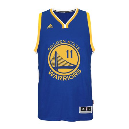 d2b93d4dd Golden State Warriors Adidas NBA Klay Thompson  11 Road Swingman Jersey ( Blue.)
