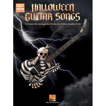 List Of Good Songs For Halloween (Halloween Guitar Songs)