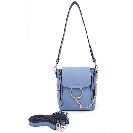 MKF Collection by Mia K Farrow Jayde 2 in 1 Shoulder Bag and Backpack