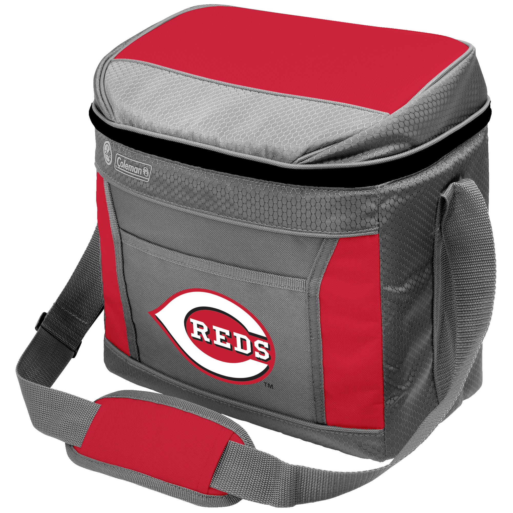 Cincinnati Reds Coleman 16-Can 24-Hour Soft-Sided Cooler - No Size