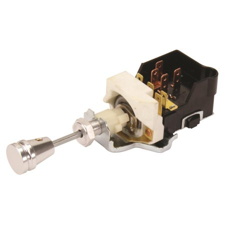 - GM Style Billet Street Rod Headlight Switch