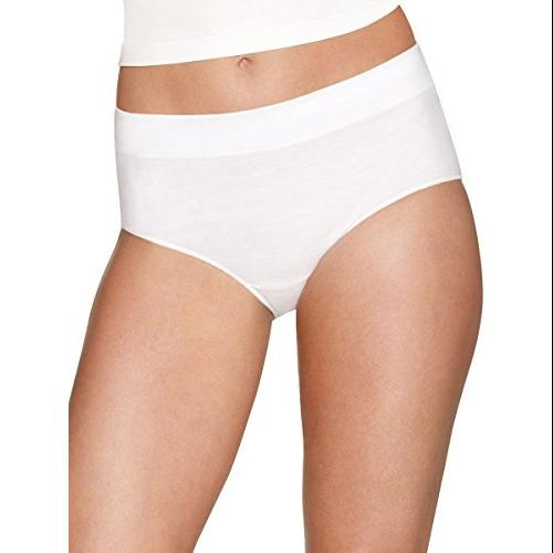Hanes Womens 3-Pack Constant Comfort X-Temp Modern Brief Panty 10 Assorted
