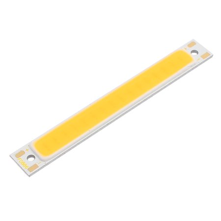 DC 3-4V 1W 60mmx8mm COB LED Strip Light Super Bright Lamp Chip Warm White - image 1 of 1
