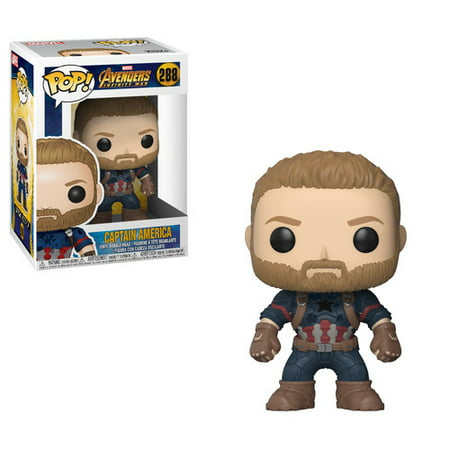- FUNKO POP! MARVEL: Avengers Infinity War - Captain America