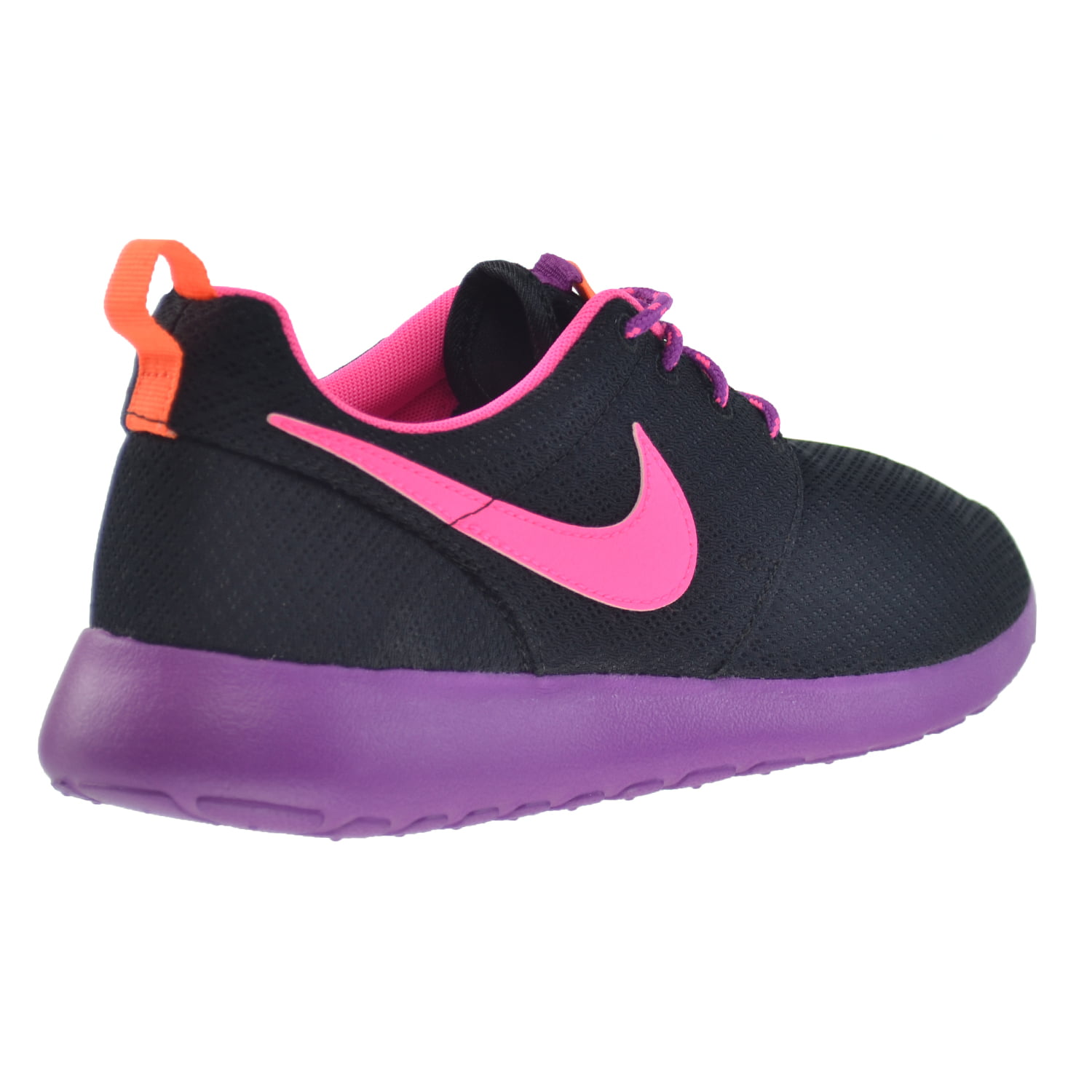 469cbe30786a Nike - Nike Rosherun (GS) Big Kids  Shoes Black Pink Pow-Bold Berry-purple  599729-007 - Walmart.com