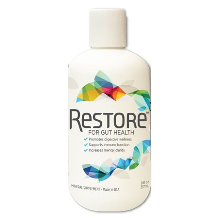 Restore 4 Life Trace Mineral   Lignite Liquid For Improved Wellness And Digestion Balance
