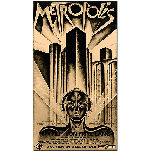 "Trademark Fine Art ""Metropolis"" Canvas Art by Schuluz Nendamm"