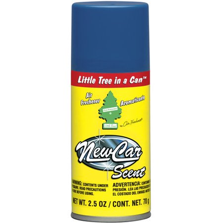 little tree in a can air freshener new car scent. Black Bedroom Furniture Sets. Home Design Ideas