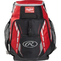 Rawlings R400 Youth Players Baseball Backpack, Multiple Colors