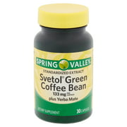 Spring Valley Svetol Green Coffee Bean Extract for Weight Loss, 133 mg, 30 Capsules