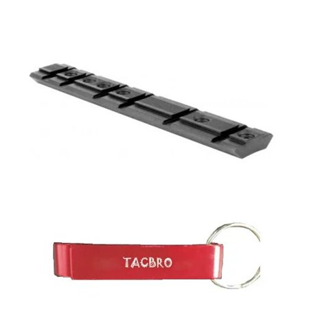 TACBRO RUGER 10/22 BASE MOUNT with One Free TACBRO Aluminum Opener(Randomly Selected
