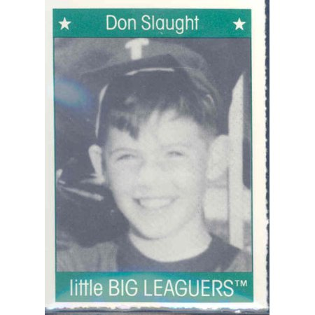 1991 More Little Big Leaguers Don Slaught Pirates Little League Photo