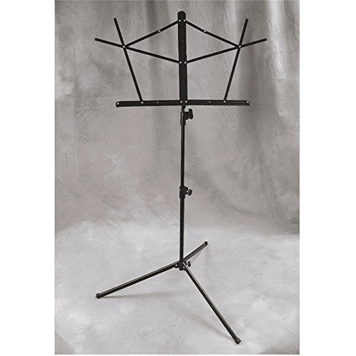 Folding Music Stand, Selmer, With Bag Black by