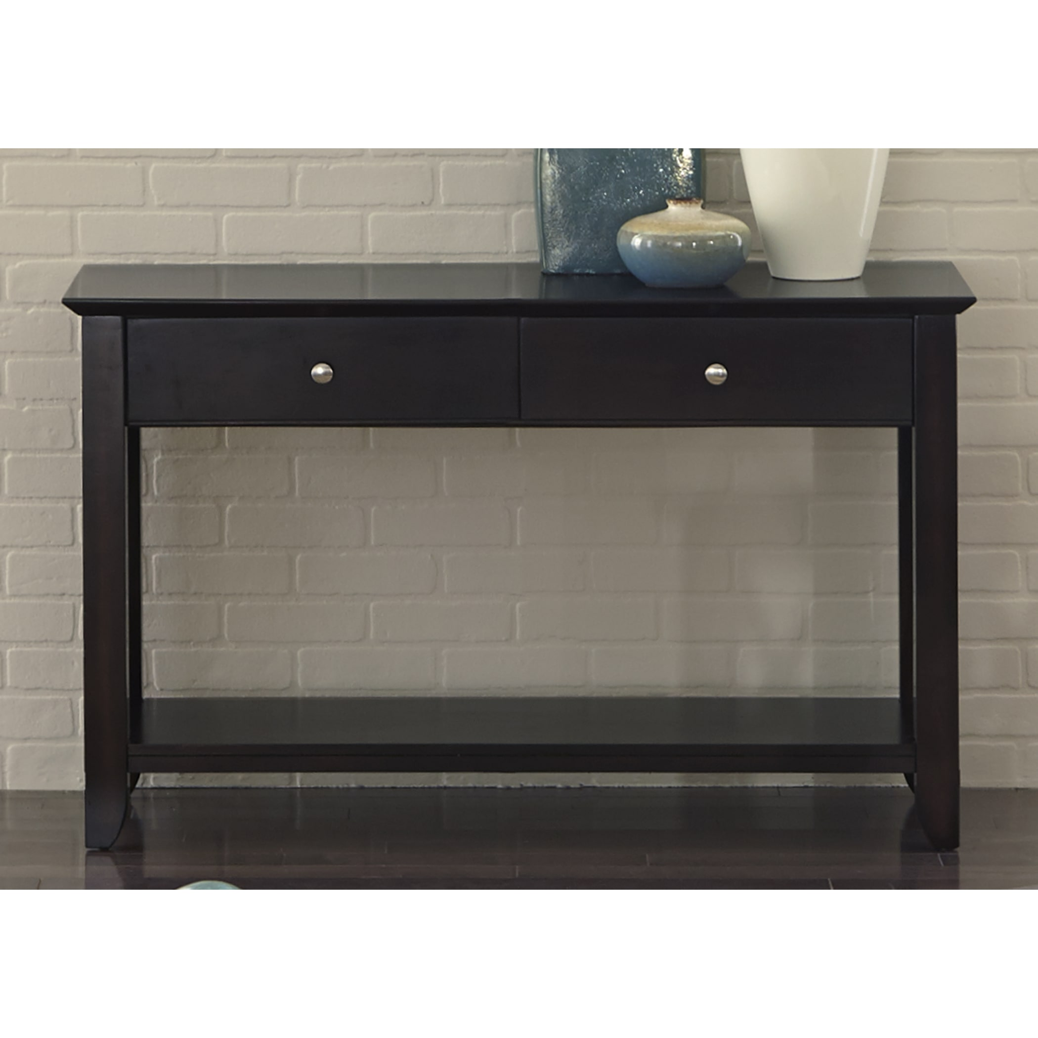 Liberty Piedmont Dark Mocha Sofa Table