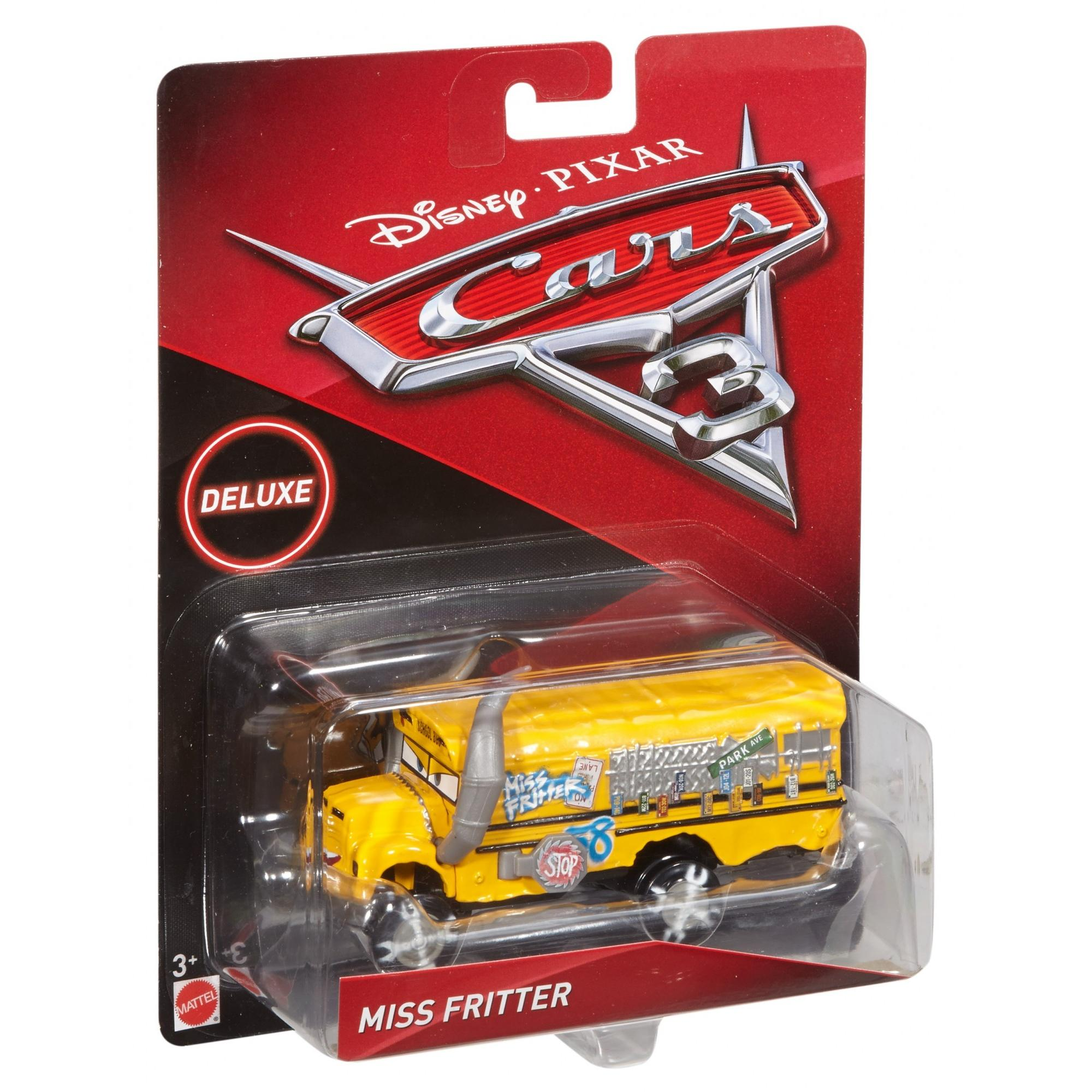 Disney Pixar Cars 3 Deluxe Miss Fritter Die Cast Character Vehicle
