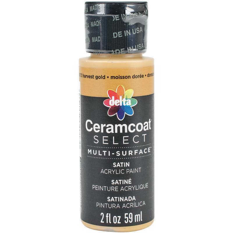 Ceramcoat Select Multi-surface Paint 2oz-harvest Gold