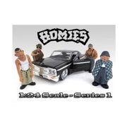 """""""Homies"""" Figurine Set of 4 pieces for 1/24 Scale Models by American Diorama"""""""