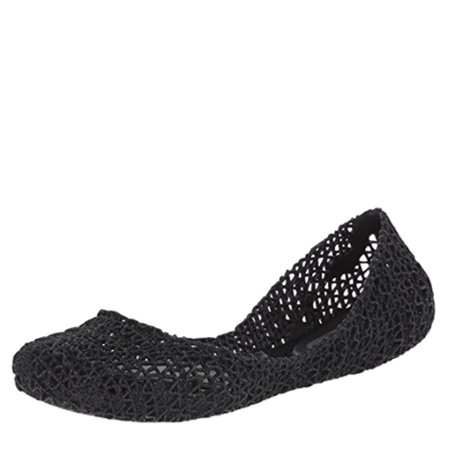 Vii Leather (Melissa x Campana Women's Papel VII Flats)