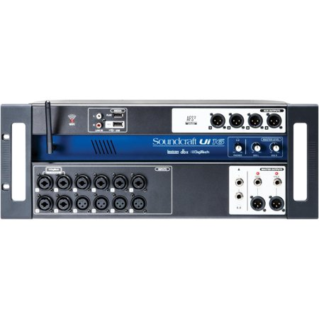 Soundcraft Ui-16 - 16 Input Remote-Controlled Digital Mixer