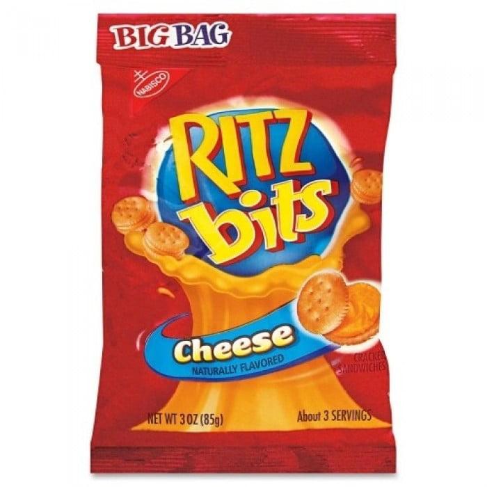 36 PACKS : Nabisco Cheese Ritz Bits Crackers, 3 Ounce