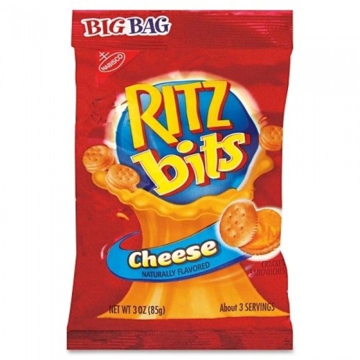 36 PACKS : Nabisco Cheese Ritz Bits Crackers, 3 Ounce
