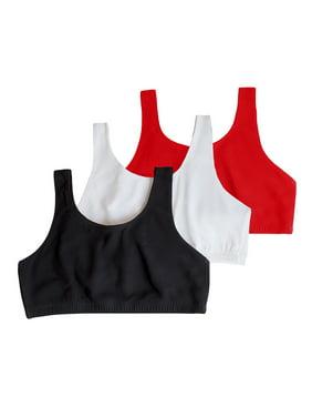 Womens Tank Style Sports Bra 3-Pack, Style 9012