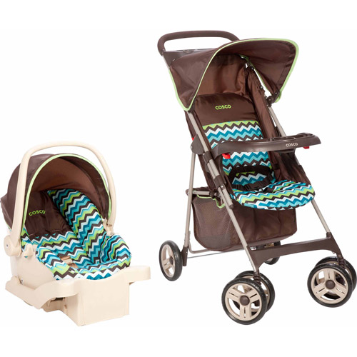 Cosco Commuter Compact Travel System, Chevron Lime