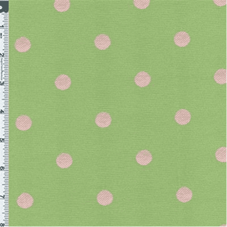 green pink polka dot jacquard fabric by the yard. Black Bedroom Furniture Sets. Home Design Ideas