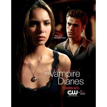 The Vampire Diaries Poster  Tv  G  27X40