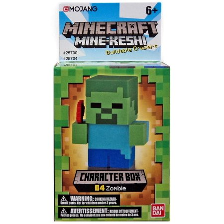 Minecraft Mine-Keshi Zombie Character Pack