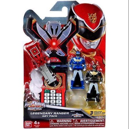 Power Rangers Super Megaforce Legendary Ranger Key Pack Roleplay Toy [Megaforce] - Power Ranger Toy Gun