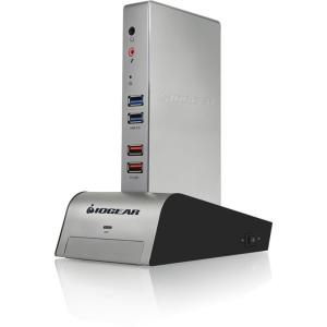 IOGEAR met(AL) Vault Dock, USB 3.0 Docking Station with b...
