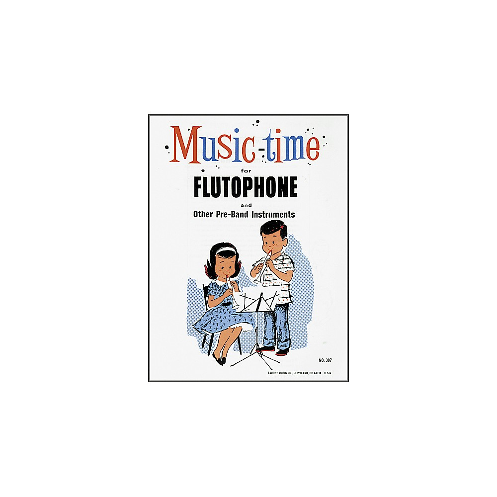 Grover-Trophy Music-time Flutophone Method Book Classroom Method Book by Grover-Trophy