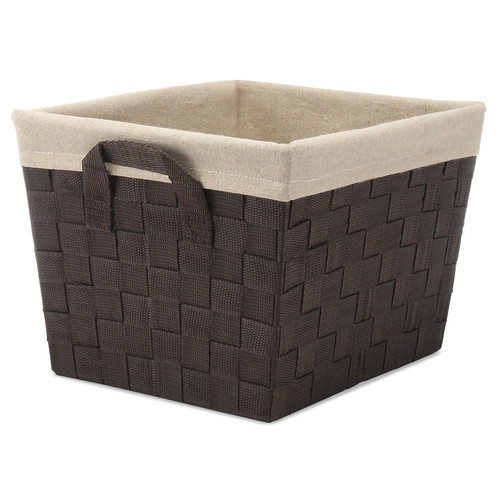 August Grove Woven Tote Basket with Liner