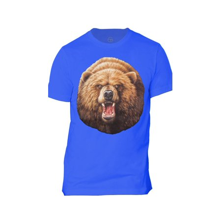 Mens Roaring Bear Short-Sleeve T-Shirt