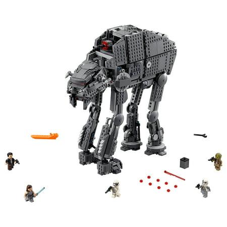 LEGO Star Wars First Order Heavy Assault Walker Building Kit with 5 Minifigures](Star Wars Walker)