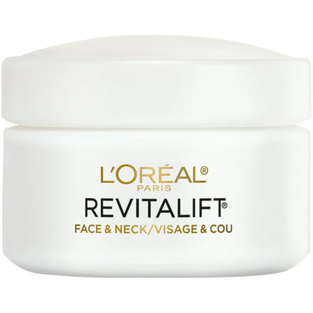 L'Oreal Paris Revitalift Anti-Wrinkle + Firming Face & Neck Cream, 1.7