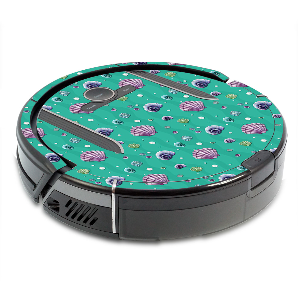 MightySkins Skin for Shark Ion Robot R85 Vacuum - Botanical Butterflies   Protective, Durable, and Unique Vinyl Decal wrap cover   Easy To Apply, Remove, and Change Styles   Made in the USA