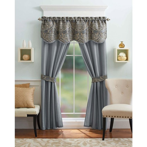 Better Homes and Gardens Medallion 5-Piece Curtain Panel Set by Better Homes & Gardens